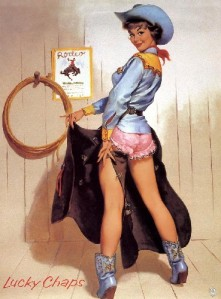 Country pin up
